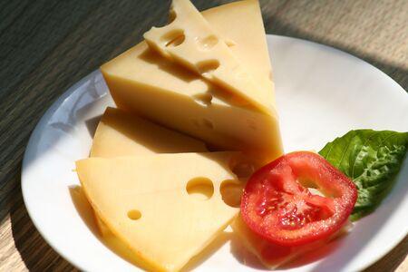 chees: swiss cheese Stock Photo
