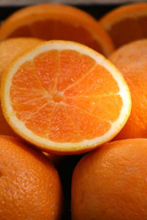 selenium: orange juice Stock Photo