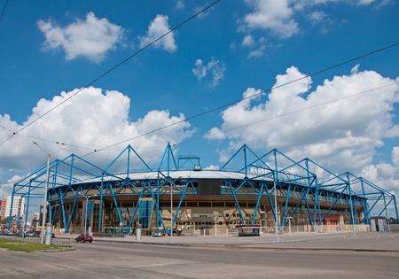 Newly constructed Metalist Stadium, Kharkov - home of the EURO-2012, Ukraine