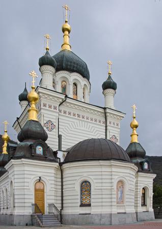 Church of the Resurrection in Foros near Yalta in Crimea, 1892