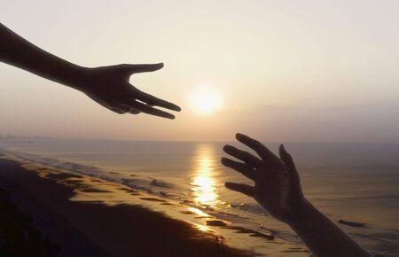 hands of light: Helping hand
