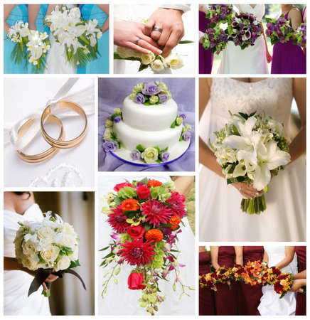 wedding collage photo