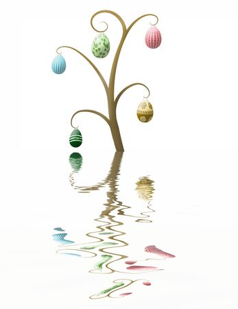 easter tree: Easter boom