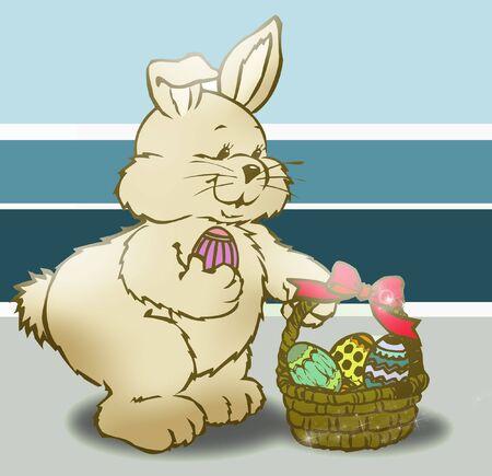 paskha: easter bunny