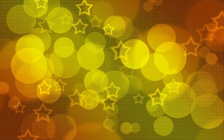 Colorful dots and stars background photo