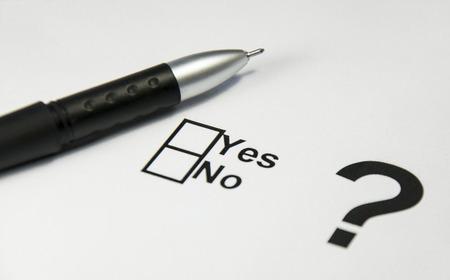 Yes No Check box