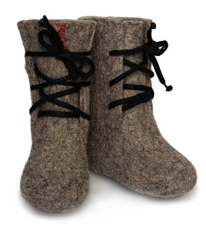 Childs valenki - russian felt footwear