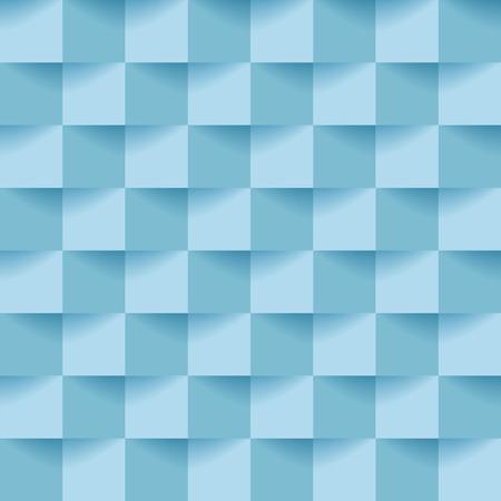 ベクトル青キューブの背景  イラスト・ベクター素材