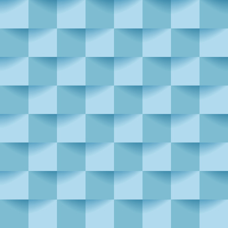 Vector blue cubes background