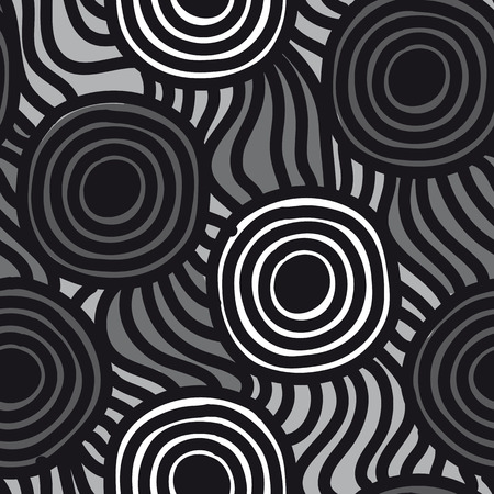 uncomplicated: Vector seamless simple pattern. Modern stylish texture. Repeating abstract background.