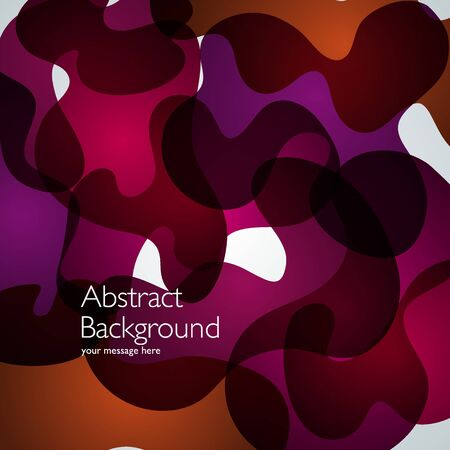 abstract waves background: Vector abstract background. Waves illustration. Design template Illustration