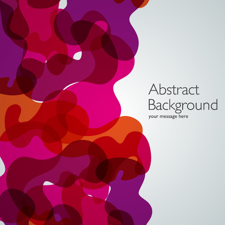 red abstract backgrounds: Vector abstract background. Waves illustration. Design template Illustration