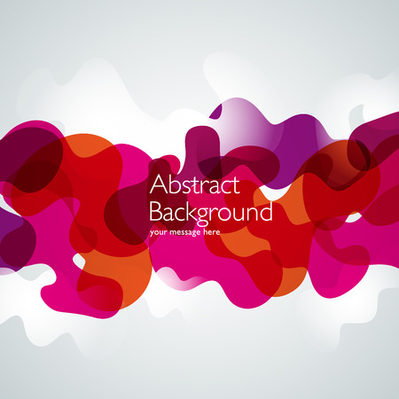 futuristic wallpaper: Vector abstract background. Waves illustration. Design template Illustration