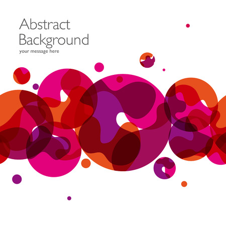 abstract: Abstracte achtergrond met vector design elementen. Illustratie Stock Illustratie