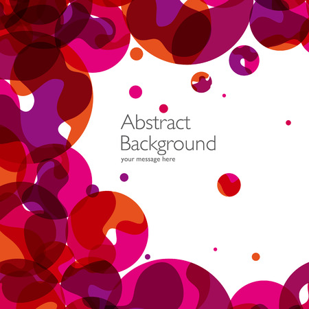 abstrakcja: Abstract background with vector design elements. Illustration