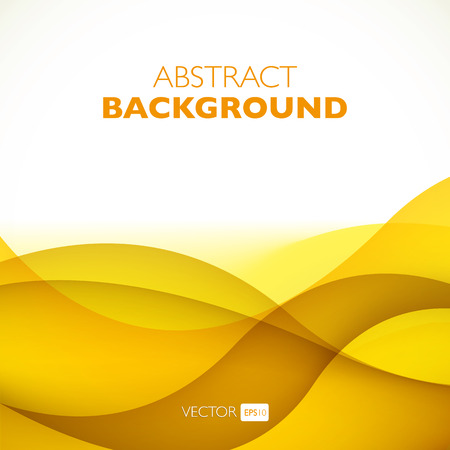 abstract background vector: Vector abstract background with waves. Presentation template.
