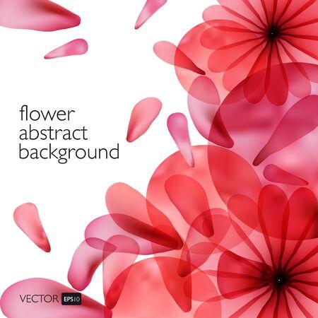 Colores de fondo con flores. fondo brillante. Foto de archivo - 42710242