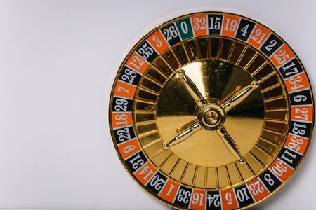 the drum from roulette. casino. that our life-game. Stock Photo