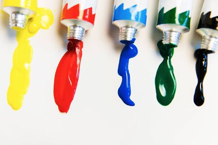bright acrylic paints. Brighten your life with bright colors.