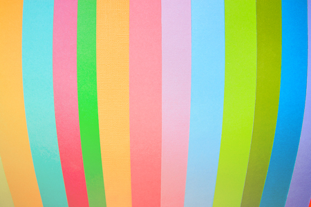 top view layout of a blank piece of paper colorful greeting card background with copy space. Pattern the concept of minimal geometry 写真素材 - 126279988