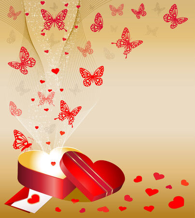 Valentine's Day Background Stock Vector - 8855317