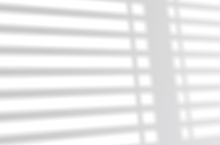blinds shade on a white wall. White and Black for overlaying a photo or mockup