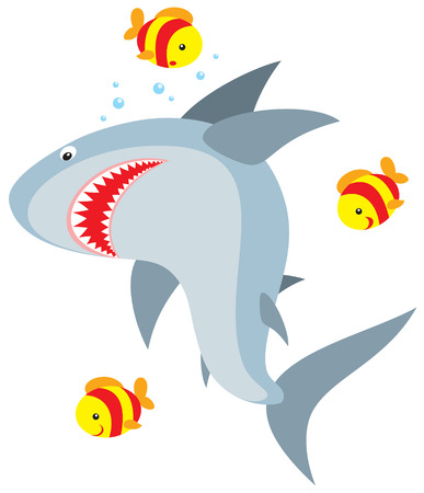 Shark Stock Vector - 3852284