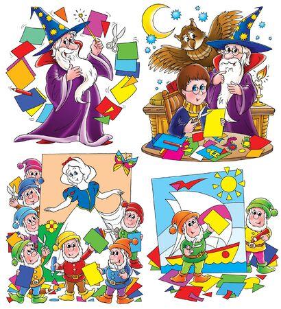 Magic paper photo