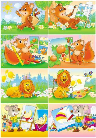Funny Animals - artists