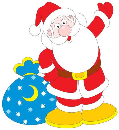 Santa Claus Stock Vector - 3868553