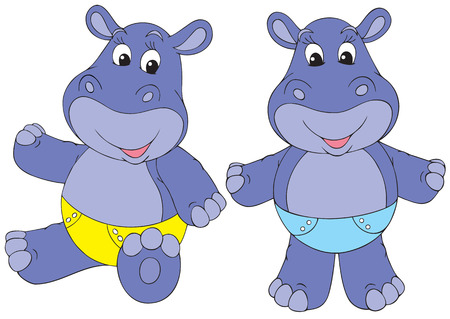 Hippo babies