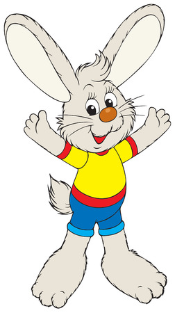 cartoon hare: Bunny