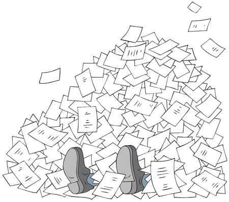 stapel papieren: Bureaucratie