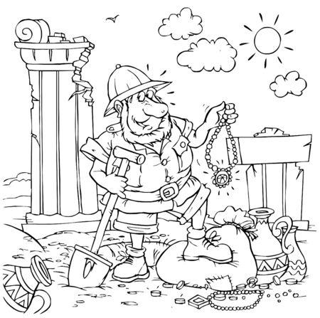 treasure trove: Treasure hunter