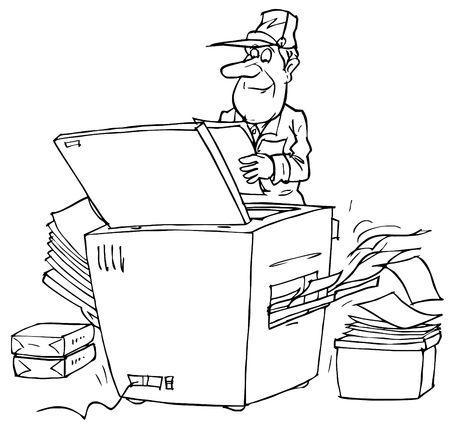 fotocopiadora: Copiadora