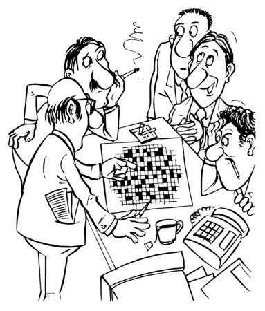 clack: Crossword