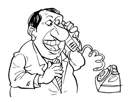 clack: Phone talking