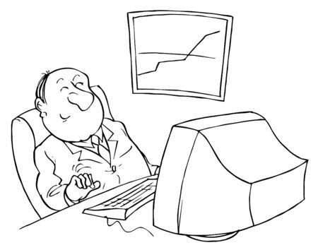 Computer user photo