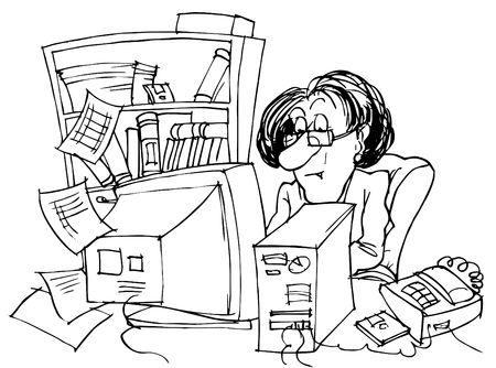 Bookkeeper photo