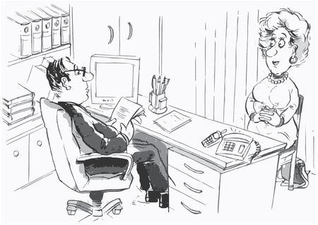 Director and job applicant