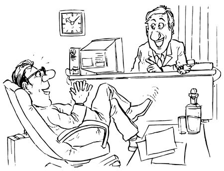 impudent: Self-confident seeker of job