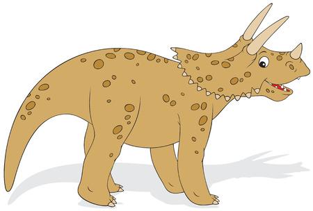 Dinosaur Triceratops Stock Vector - 6201902