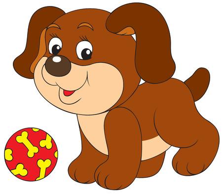 game dog: Pup