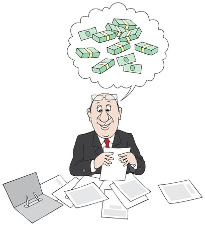 Profit count Illustration