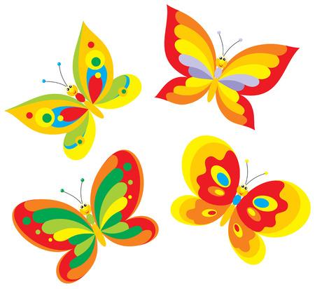 Schmetterling Clipart Vektorgrafiken, Cliparts und Illustrationen Kaufen -  123RF