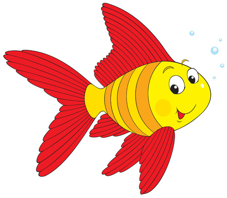 Striped fish