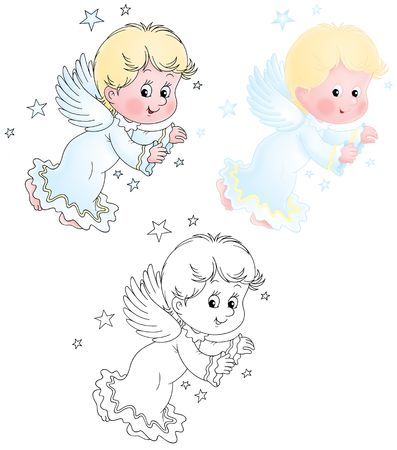 cherub: Little Cherub Stock Photo