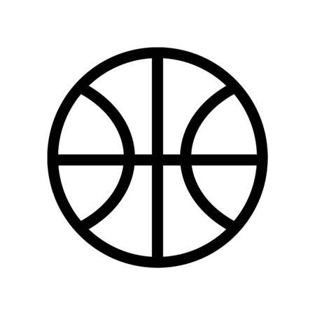 Basketball symbol Illustration.