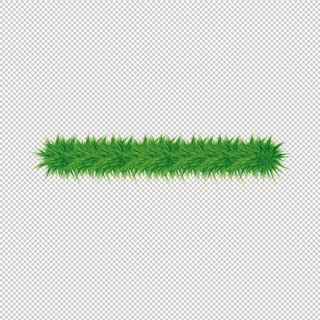 Spruce branch. Christmas decoration for the design of cards, posters, banners, sites, calendars and other printed materials. Vector illustration. Çizim
