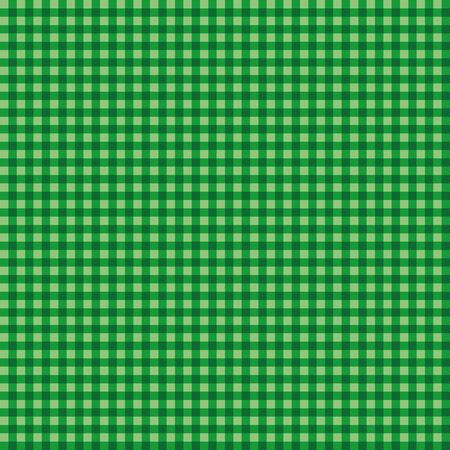 Checkered green geometric seamless pattern. Background Textile Wallpaper. Vector illustration.